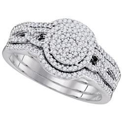 0.35CT Diamond Bridal 10KT Ring White Gold