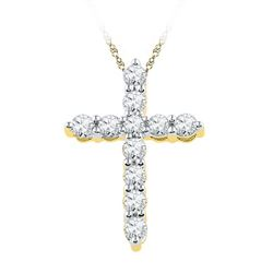 0.33CT Diamond Anniversary 10KT Pendant Yellow Gold