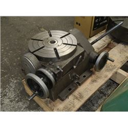 "Phase II, 90 Degree 10"" Tilting Rotary Table, 222-410"