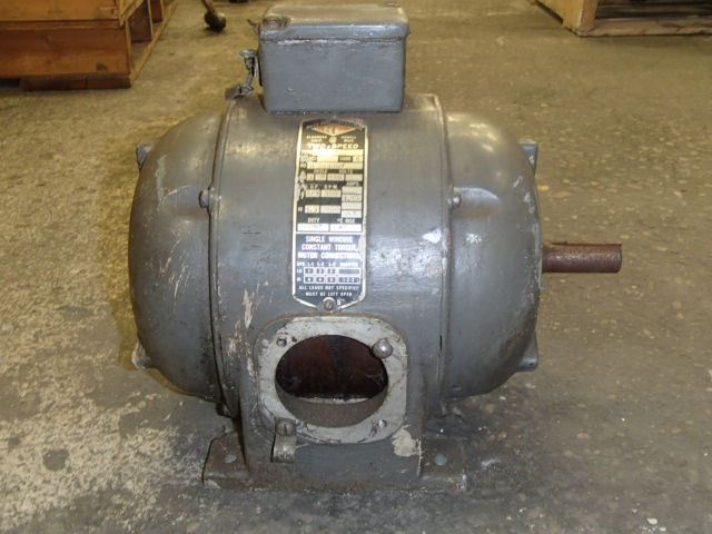 Reuland electric 2 speed motor type mml for Two speed electric motor