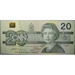 1991 - BC-58aA-i - 20 - Dollar - Replacement - Serial Number - EIX2551191