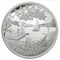 2013 - $3 Fine Silver Coin - Martin Short Presents Canada