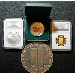 USA Commemorative Lot 4pcs