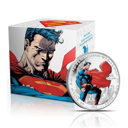 2013 Fine Silver Coin - 75th Anniversary of Superman - Man of Steel