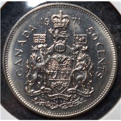 1971-50 cent - Elizabeth II 50 Cent