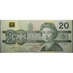1991 - BC-58aA-i - 20 - Dollar - Replacement - Serial Number - EIX2627983