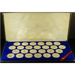 1985 - Treasures of the Caribbean Proof Coin Set