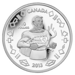 2013 Fine Silver Coin - 75th Anniversary of Superman - Vintage