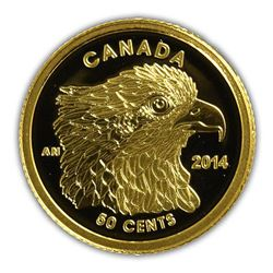 2014 - Canada 50-cent Pure Gold Coin - Osprey