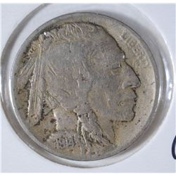 1914-S BUFFALO NICKEL NEAR XF - NICE