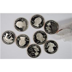 ROLL OF 2009-S GEM PROOF WASHINGTON QUARTERS ( 40 ) COINS
