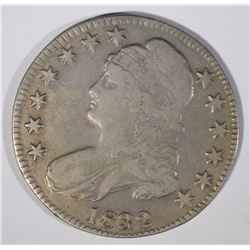 1832 CAPPED BUST HALF DOLLAR, F/VF with porosity