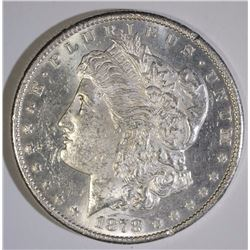1878-S MORGAN SILVER DOLLAR, CHOICE BU PL