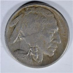 1913-S TYPE-2 BUFFALO NICKEL, XF scratch obverse KEY COIN