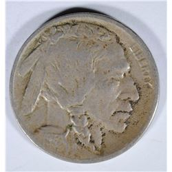 1913-D TYPE-2 BUFFALO NICKEL, VF  KEY COIN