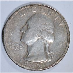 1932-S WASHINGTON QUARTER, VF  KEY DATE
