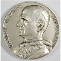 POPE PAUL VI HIGH RELIEF MEDAL