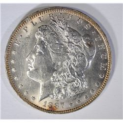 1887-O  MORGAN SILVER DOLLAR, BU