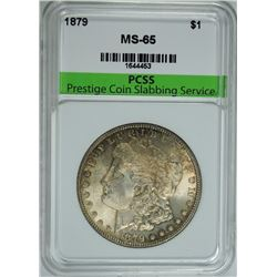 1879 MORGAN SILVER DOLLAR, PCSS GEM BU
