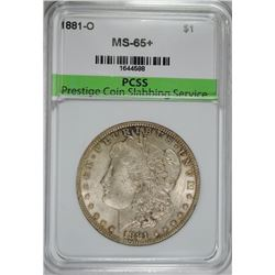 1881-O MORGAN SILVER DOLLAR PCSS GEM UNC+