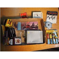 Lot Of Sealed Misc., Crayons, Playing Cards, Checkers, Etc.