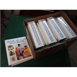 Box Full Of Home Health Handbook Binders