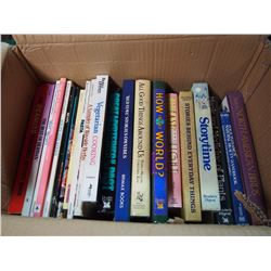 Box Full Of Books, Lots Of Doctor Phil