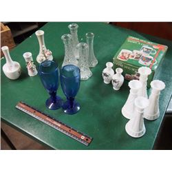 Lot Of Candleholders, Cups