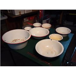 Set Of Enamelware