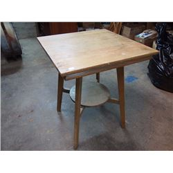 "Wood Parlor Table (24""X24""X29"")"