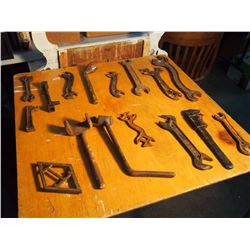 Lot Of Various Wrenches
