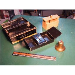 Lockbox, Butter Press, Bell