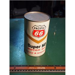 Pacific 66 Super Hd Motor Oil, Quart, Full