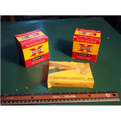Winchester Super X Magnum Mark 5 Shotgun Rounds, W/ Gevelot High Powered Cartridges. All Unopened