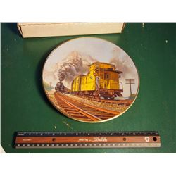 Christian Bell Porcelain Collector Plate, Brief Encounter, The Age Of Steam Series