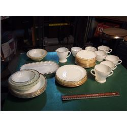 Set Of Dishware (Mostly Fire King)