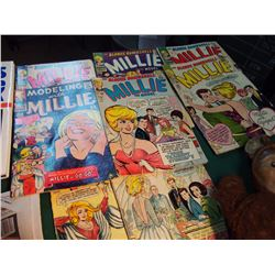 Lot Of Misc. (Millie Comic Books, Misc)