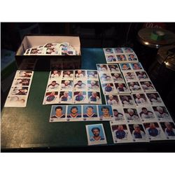 Huge Lot Of Edmonton Oilers Red Rooster Cards From 1982 To 1987, 100'S Of Cards, Most In Mint Condit