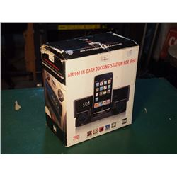 Dual (Vehicle) Am/Fm In-Dash Docking Station For Ipod, Not Used, Missing Remote Control