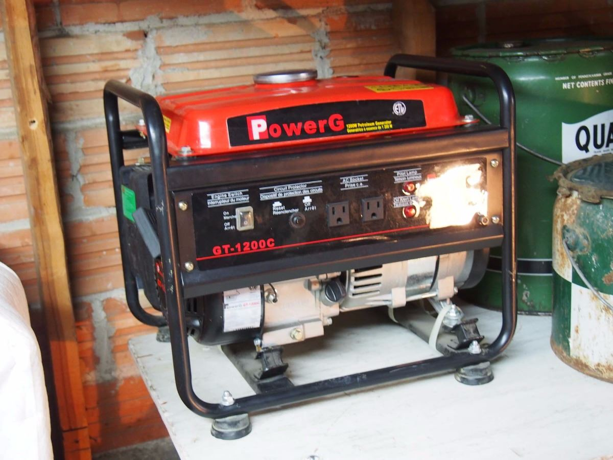 Video; Image 1 : Power G Gt-1200C Generator, 1200W, Used Very Little,