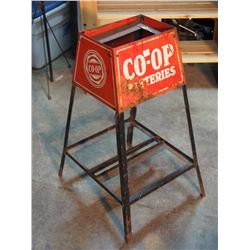 "Co-Op Batteries Stand 27"" Tall"