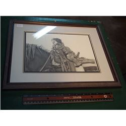 Bernie Brown Framed Picture