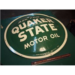 Ask For Quaker State Motor Oil, Dome Sign