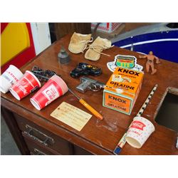 Box Of Misc (Coke, Gelatin, Melfort)