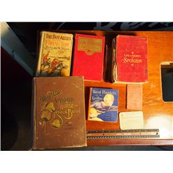 Lot Of Antique Books