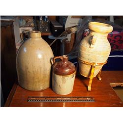 Antique Vases And Jugs (3)