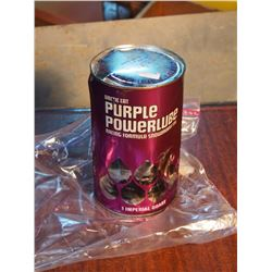 Arctic Cat Purple Powerlube Oil Quart (Full, Leaking)