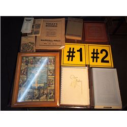 Lot Of Misc. Paper, Winston Churchhill, Keyboard Kings Of Jazz, Today'S Business, Tednderfoot To Que