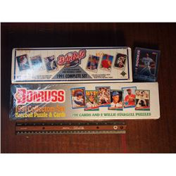 Factory Sealed Baseball Card Sets - 1991 Upper Deck 800 Set, 1991 Donruss 792 Set, 1991 40 Card Rook