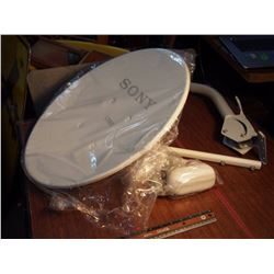"Sony 18"" Satellite Dishes W/ Lnb'S (3)"